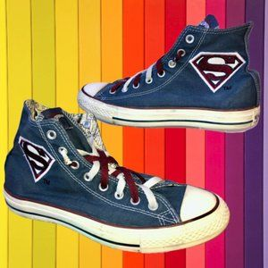 Converse Mens SUPERMAN Sneakers